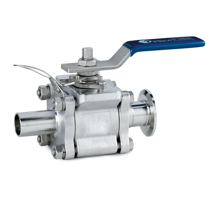 Sanitary and Industrial Ball Valves