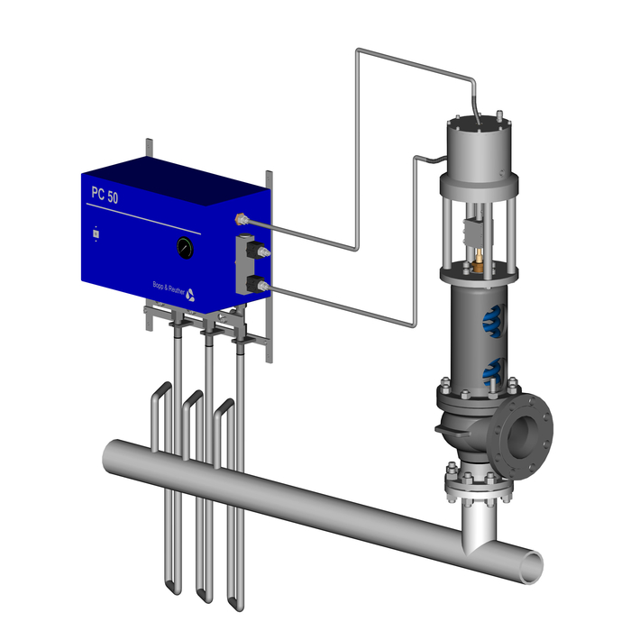 Pilot Operated Safety Relief Valves